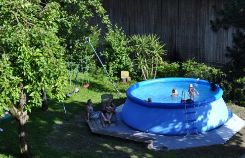 Kinder for Garten pool tiefe